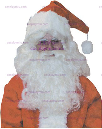 Santa Wig And Beard Deluxe