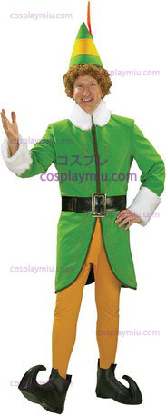 Buddy The Elf Dlx Adult Large