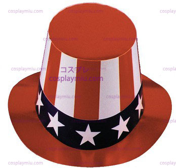 Cardboard Uncle Sam Hat, 1 Size