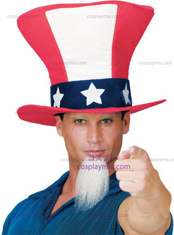 Uncle Sam Hat W Beard
