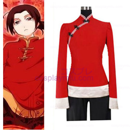 Hetalia Axis Powers China Cosplay Costume