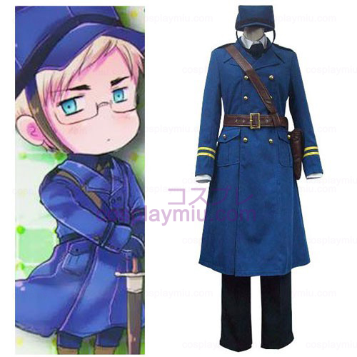Axis Powers Sweden Berwald Oxenstierna Halloween Cosplay Costume