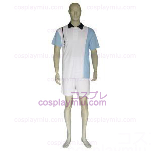 The Prince Of Tennis Hyotei Gakuen Light Blue and White Cosplay Costume