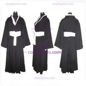 Bleach Kuchiki Rukia Soul Reaper Black Uniform Cosplay Costume