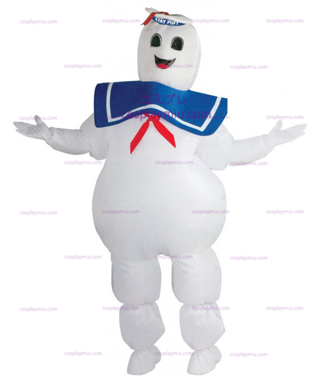 Ghostbuster Marshmallow Man Costume