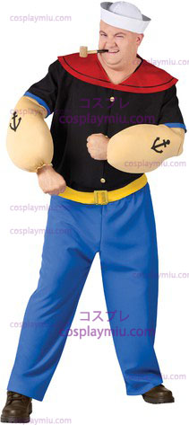 Popeye Costume Plus