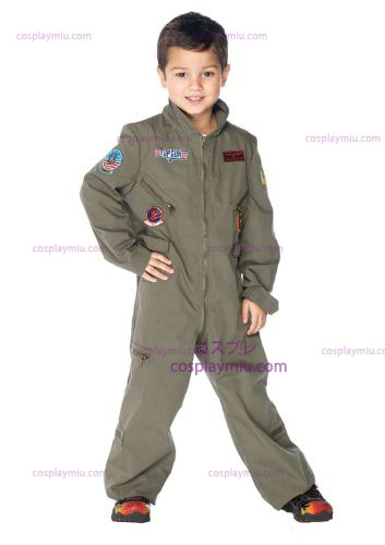Top Gun Flight Suit Kids Costume