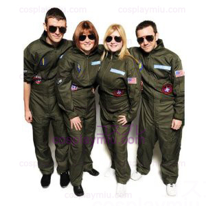 Top Gun Costume Party Flight Suit