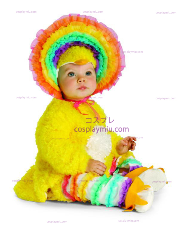 Rainbow Chickie Costume