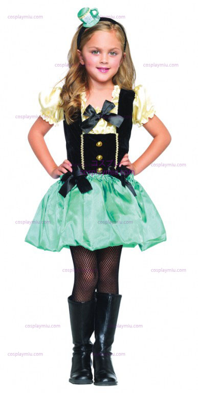 Alice in Wonderland Tea Party Girl's Costume