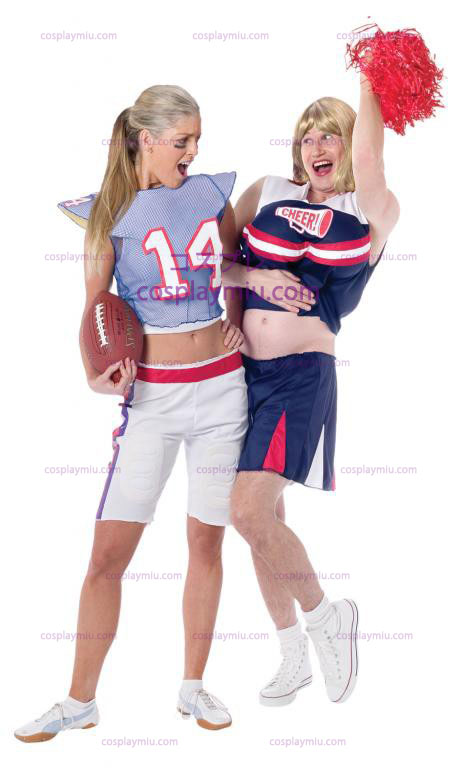 Cheerleader Guy Adult Costume