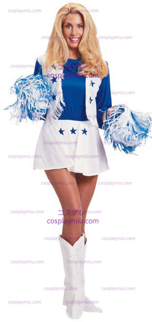 Dallas Cowboy Cheerleader Adult Costume