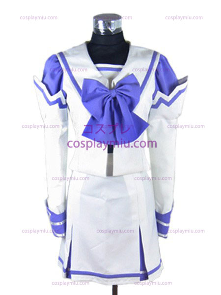 Holly and white school summer clothes mausoleum Kimi ga Nozomu Eien