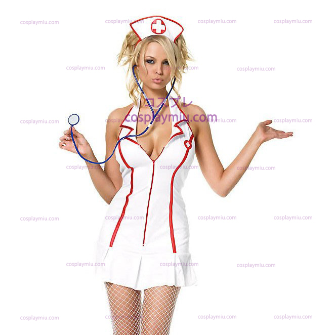 Nurse Sexy Head Adult Costume