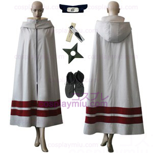 Naruto Leaf Village Cloak For Women