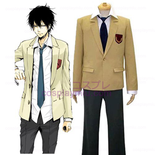 Katekyo Hitman Reborn! Namimori High School Uniform Cosplay