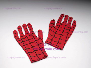 Spiderman Gloves Adult Comic