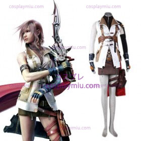 Final Fantasy XIII Lightning Cosplay Costume for sale