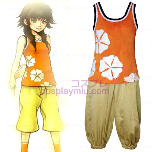 Kingdom Hearts 2 Olette Women Cosplay Costume