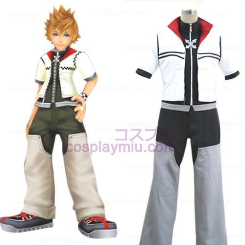 Kingdom Hearts 2 Roxas Men's Cosplay Costume