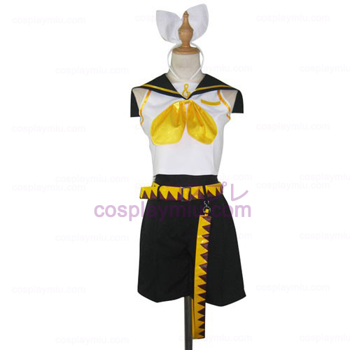 Vocaloid Kagamine Rin Halloween Women's Cosplay Costume